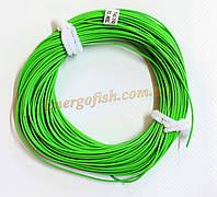 Шнур нахлыстовый WT-8F 30m (100ft) Green