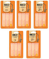 Трости для альт саксофона  RICO Alto Sax #2.5 - 3-Pack