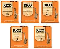 Трости для альт саксофона  RICO Alto Sax #2.0 - 10 Box