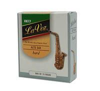 Трости для альт саксофона  RICO La Voz - Alto Sax Medium Hard - 10 Box