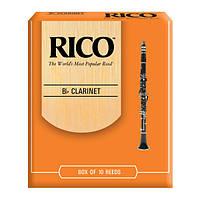 Трости для кларнета RICO Bb Clarinet #2.5 - 10 Box