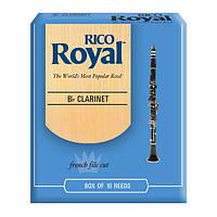 Трости для кларнета RICO Royal - Bb Clarinet #1.5 - 10 box