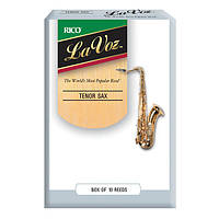 Трости для тенор саксофона RICO La Voz - Tenor Sax Medium Soft - 10 Box