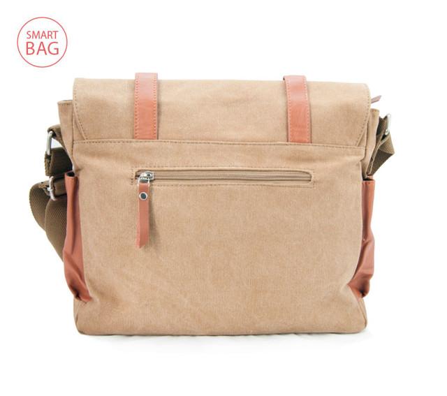Молодежная мужская сумка через плечо Zeroback   вид сзади
