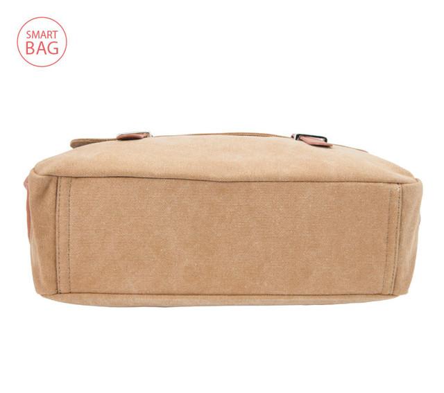 Молодежная мужская сумка через плечо Zeroback   вид снизу