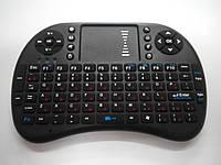 Безпровідна міні клавіатура + миша тачпад, Російська мова, фото 1