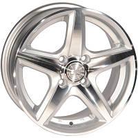 Автомобильный диск, литой Zorat Wheels 244 R15 W6.5 PCD5x110 ET35 DIA73.1