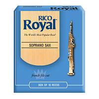 Трости для сопрано саксофона RICORoyal - Soprano Sax #3.0 - 10 Box