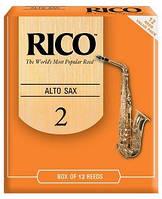 Трости для альт саксофона  RICO RJA1220 - Alto Sax #2.0 - 12 Box