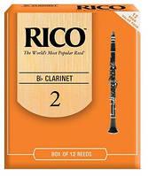 Трости для кларнета RICO RCA1220 - Bb Clarinet #2.0 - 12 Box