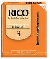 Трости для кларнета RICO RCA1230 - Bb Clarinet #3.0 - 12 Box
