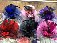 Шляпка на уточках Розы