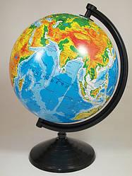 Глобус физический, диаметр 260мм