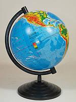 Глобус физический, диаметр 160мм