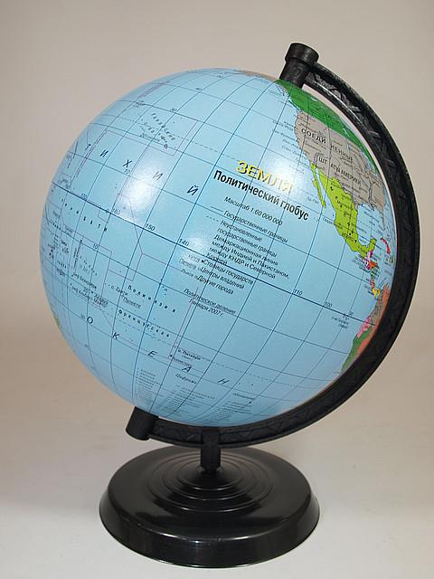 Глобус политический, диаметр 220мм