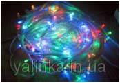 Гирлянда электрическая 100 ламп 10м. мульти