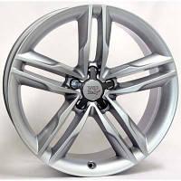 WSP Italy W562 R18 W8 PCD5x112 ET31 DIA66.6 Silver