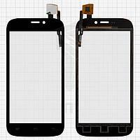 Сенсорный экран (touchscreen) для Qumo Quest 452 / 453, тип 1, черный, оригинал