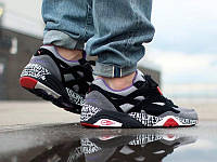 Puma R698 grey red black