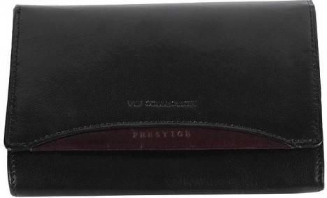 Качественный женский кошелек Vip Collection 29A PR черный