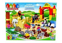Конструктор для малышей JDLT Зоопарк 5096, 115 деталей