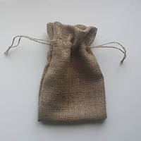 Пошив мешочков из мешковины