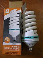 Лампа энергосберегающая 45 Вт, 4200 К, Е40, 220-240 Евросвет