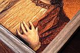 Спаситель. Икона из янтаря, фото 3