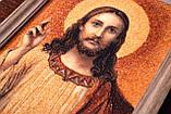Спаситель. Икона из янтаря, фото 2