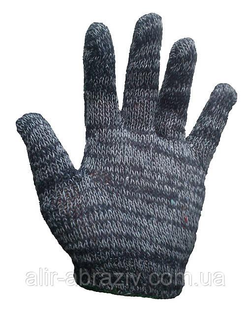Перчатки рабочие без покрытия.