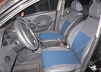 Чехлы на сиденья Шевроле Авео хэтчбек (чехлы из экокожи Chevrolet Aveo 5D стиль Premium)