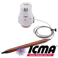 Icma 992 термостатическая головка 30х1,5 с выносным датчиком