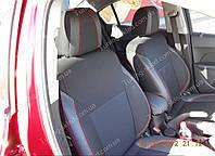 Чехлы на сиденья Шевроле Круз (чехлы из экокожи Chevrolet Cruze стиль Premium)