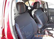 Чохли на сидіння Шевроле Круз (чохли з екошкіри Chevrolet Cruze стиль Premium)