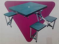 Стол раскладной со стульями UnderPrice HXPT-8821-B