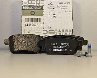 Тормозные колодки задние на Renault Kangoo II 2008-> — Renault - 440604876R