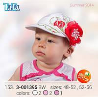 Бейсболка для девочки TuTu арт. 3-001395