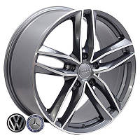 Литые диски Zorat Wheels BK690 R20 W9 PCD5x130 ET60 DIA71.6 GP