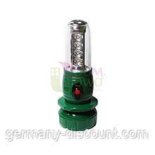 Фонарь светодиодный аккумуляторный, походный фонарь Zikon Польша