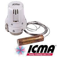 Icma 995 термостатическая головка 30х1,5 с выносным датчиком