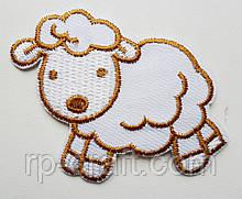 Аплікація клейова. Вівця, 55х75 мм