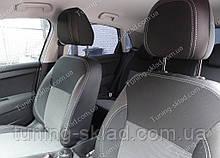 Чохли на сидіння Сітроен С4 (чохли з екошкіри Citroen C4 стиль Premium)