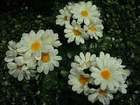 Ромашка низкая (50 шт в уп) -искусственные цветы  , фото 1