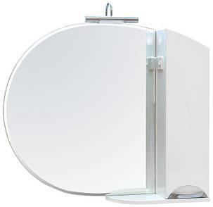 Зеркало с пеналом Аква Родос Глория 95 без подсветки, фото 2