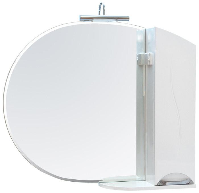 Зеркало с пеналом Аква Родос Глория 95 без подсветки