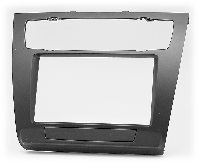 2-DIN переходная рамка BMW 1-Series (E81, 82, 87, 88) 2007-2011 (Auto Air-Conditioning), CARAV 11-481