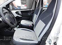 Чохли на сидіння Сітроен С1 (чохли з екошкіри Citroen C1 стиль Premium)