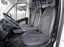 Чохли на сидіння Сітроен Джампер 2 (чохли з екошкіри Citroen Jumper 2 стиль Premium)