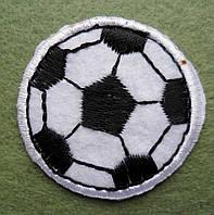 Аппликация клеевая. Футбольный мяч