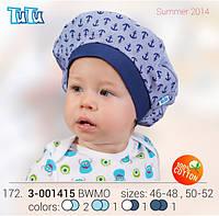 Панамка для мальчика TuTu арт.172. 3-001415 (46-48, 50-52)